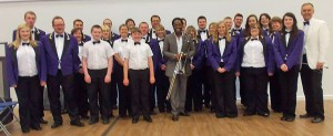 Skelmanthorpe B Band with Dennis Rollins