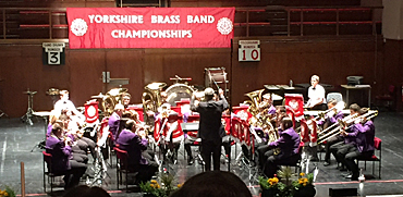 Prospect Brass at Yorkshire Area Finals 2015