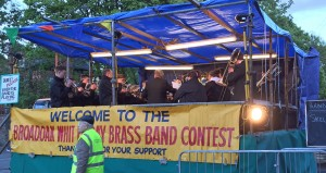 Skelmanthorpe Prospect Band plays Branwyn at Broadoak