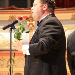 In concert with Paul Potts 2011